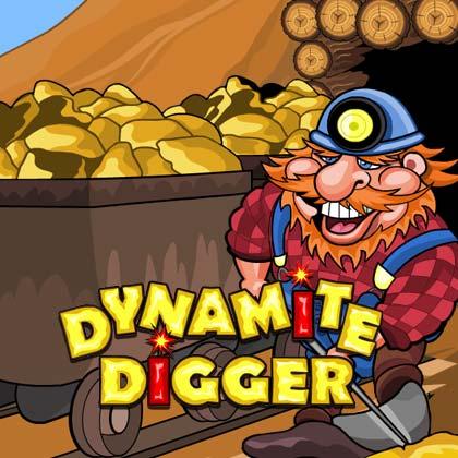 Dynamite digger slot game