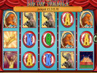 Big Top Tombola