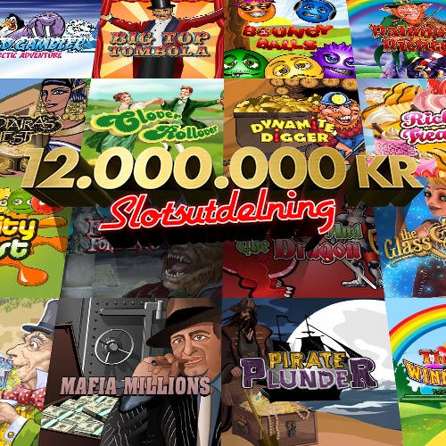 12.000.000 kr i Slotsutdelning