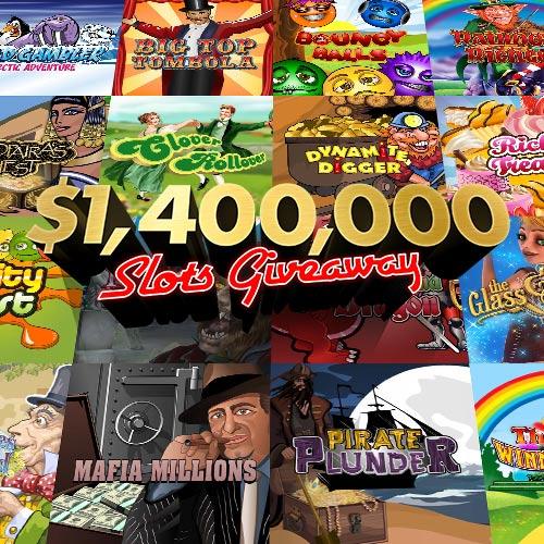 $1,400,000 Slots Giveaway
