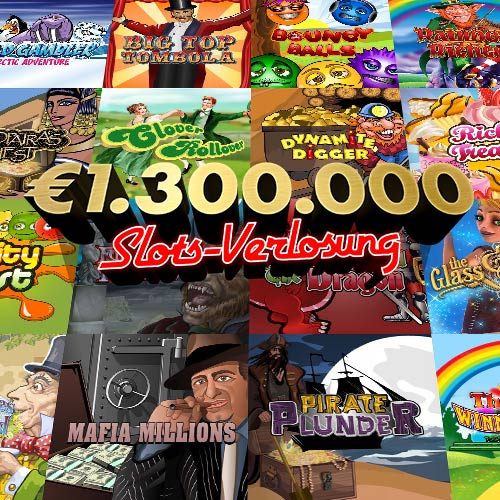 €1.300.000 Slots-Verlosung