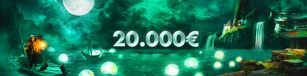 Bonanza de efectivo de 20.000€