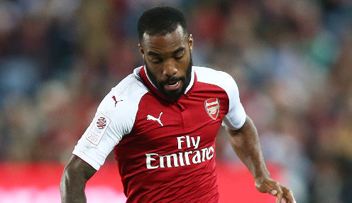 Arsenal striker Lacazette