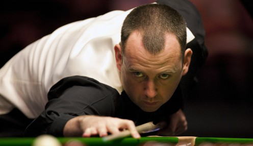 Mark Williams in the mood for Snooker at the Crucible
