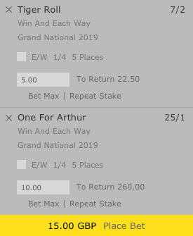 E/w betting bet365 betting odds on horse racing